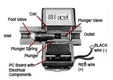 facet fuel pump instructions