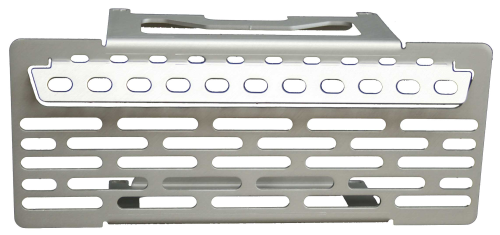 Oil Cooler Guard - Plain Silver - R1200GS & R1200GSA