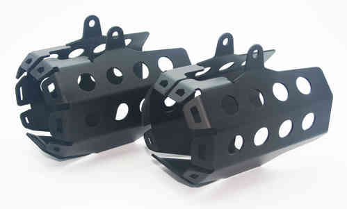 Auxiliary Light Guards - Black