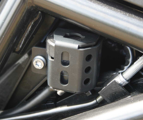 Rear Brake Reservoir Guard - Black