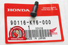 OEM Honda Fuel Tap Lever Screw - RD07 / RD07A (1993-03)