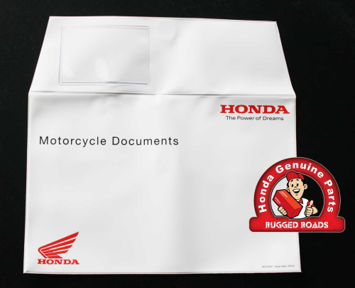 OEM Honda - Plastic Document Wallet