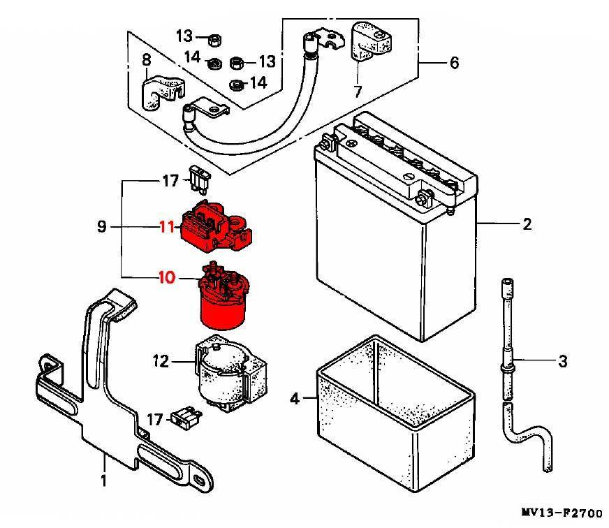 starter solenoid - rd03  04  1988-92