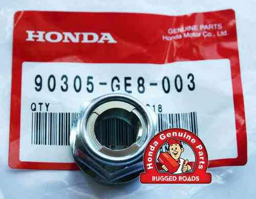OEM Honda Swingarm Spindle Nut - RD03/04/07/07A (1988 - 03)