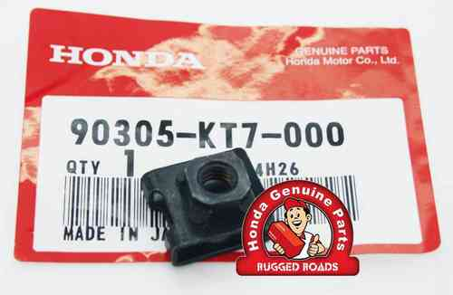 OEM Honda Battery Cover Nut Clip 6mm - RD07/07A (1993 - 03)
