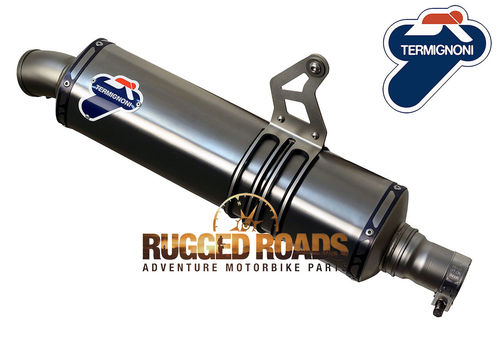 Termignoni Titanium Sleeve slip-on Relevance Silencer - CRF1000 (2016 > )