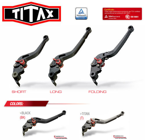 Titax GP Series Brake and Clutch Levers