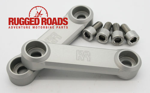 Rear Peg Hanger Covers - Silver - CRF1000 (2016 > )