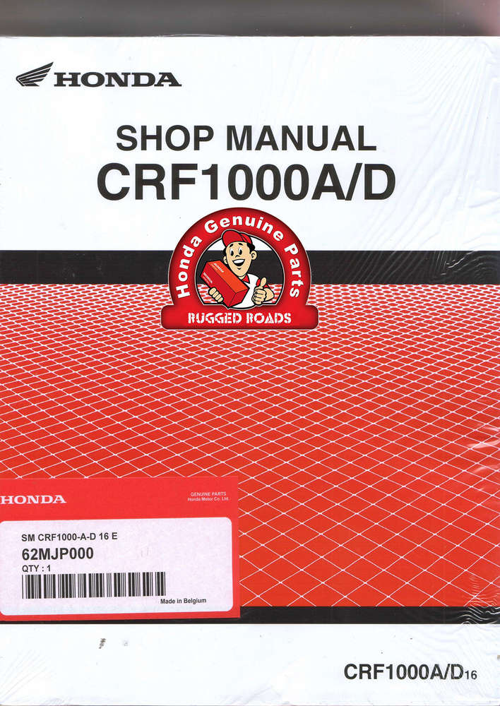 oem honda workshop manual crf1000a d 2016 u003e rugged roads rh ruggedroads co uk 1993 Honda Civic D16 Engine Honda D Series