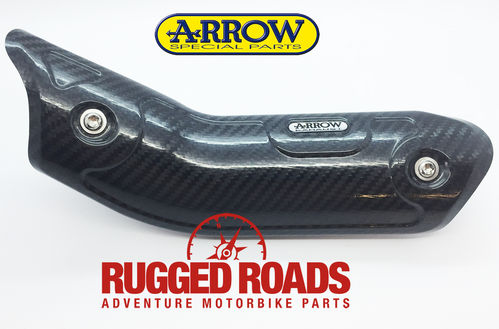 Arrow Racing Carbon Heel Guard for full systems - CRF1000 (2016 > )