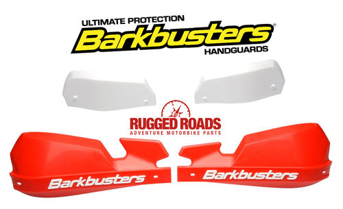 Barkbusters Handguard Kit VPS RED/WHITE for CRF1000 Africa Twin