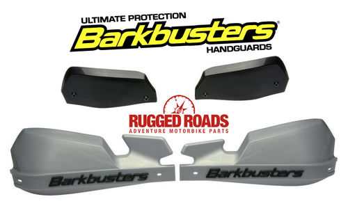Barkbusters Handguard Kit VPS SILVER/BLACK for CRF1000 Africa Twin