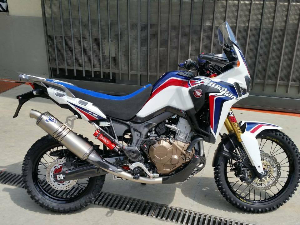 One Piece Rally Seat Blue Crf1000 Amp Crf1000 Adventure
