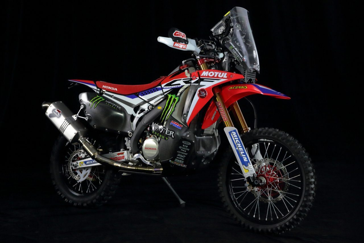 oem honda crf rally decals rugged roads. Black Bedroom Furniture Sets. Home Design Ideas