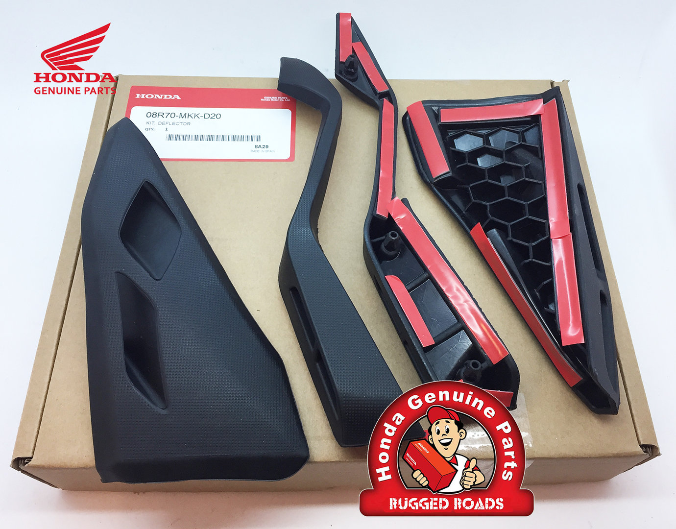 Oem Honda Upper Amp Lower Deflector Kit Crf1000 Adventure
