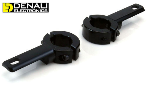 DENALI 21mm-29mm Crash Bar Mount Kit For Auxiliary Lights