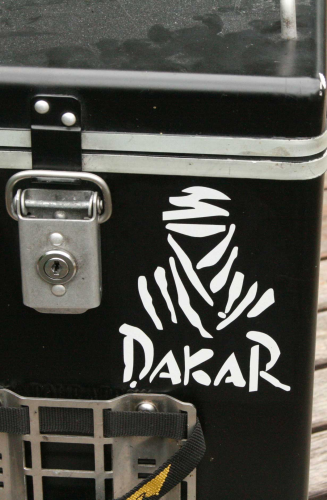 Dakar Decal - REFLECTIVE White