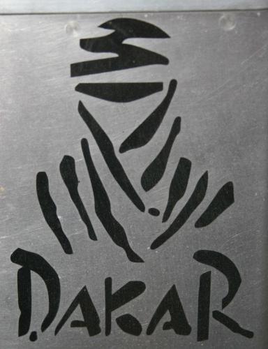 Dakar Decal Reflective Black
