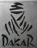 Dakar Decal - REFLECTIVE Black
