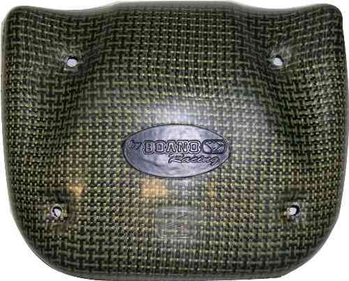 Air filter cover kevlar carbon - RD07 / RD07A