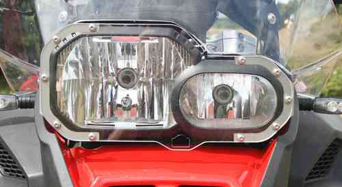 Polycarbonate Headlight Guard
