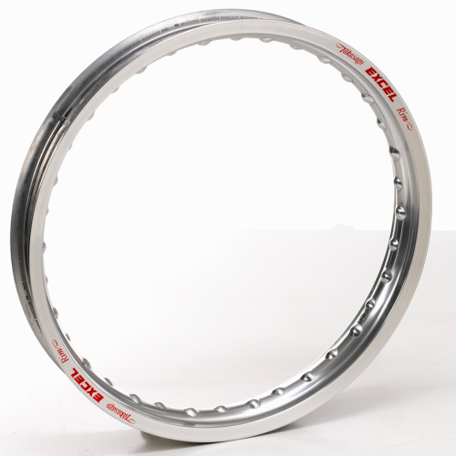 "Excel Rear Rim – SILVER – 17"" x 3.5"" 32 spoke"