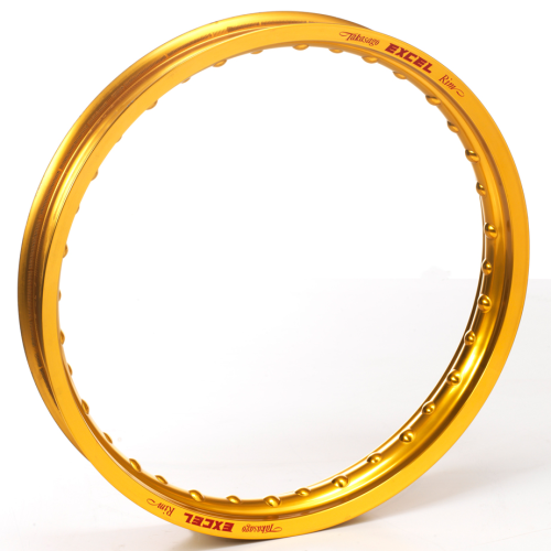 "Excel Rear Rim – GOLD – 17"" x 3.5"" 32 spoke"