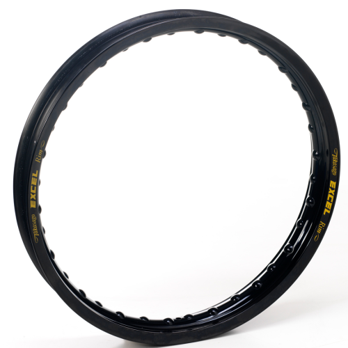 "Excel Rear Rim – BLACK – 17"" x 3.5"" 32 spoke"