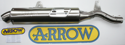 Arrow Paris-Dakar Replica Homologated Silencer – Africa Twin XRV750 RD04