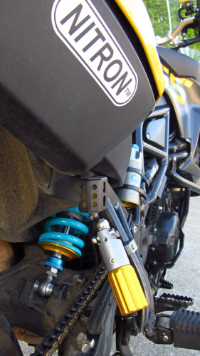 NTR Sport+ with HPA for BMW F800GS