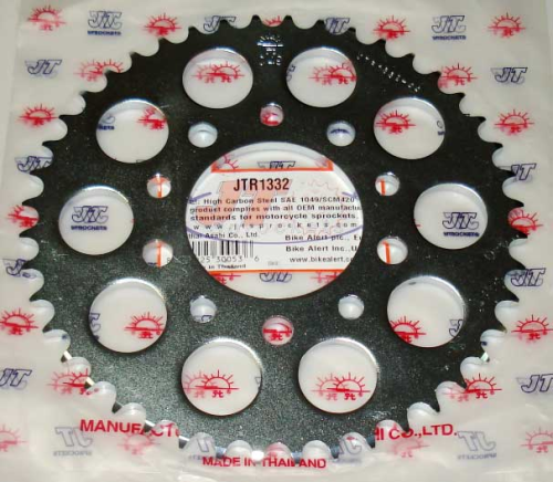 JT Rear Sprocket 43 Teeth for Africa Twin XRV750, CRF1000, CRF1100