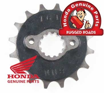OEM Honda Front Drive Sprocket (16T) for RD03