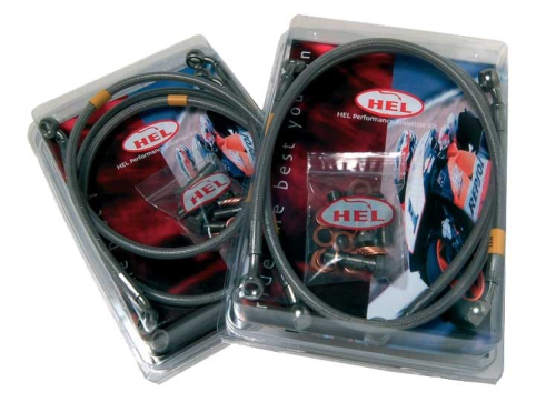 HEL REAR Brake Line For Honda XRV750 Africa Twin RD04/07/07A (1990-2003)