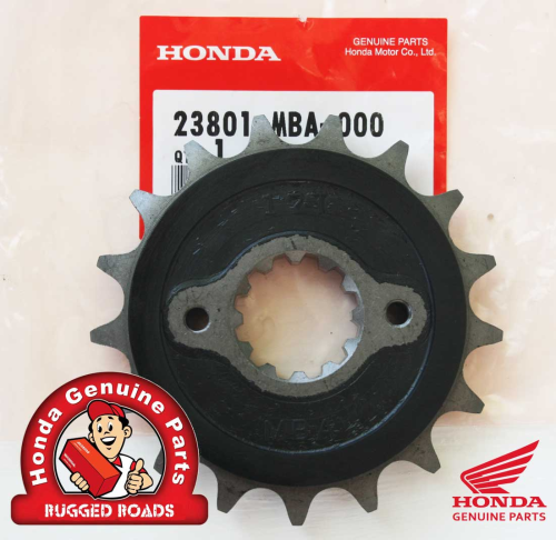 OEM Honda Front Drive Sprocket (17T) for RD04/07/07A
