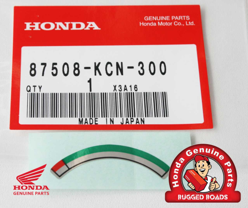 OEM Honda Decal - Chain Adjuster