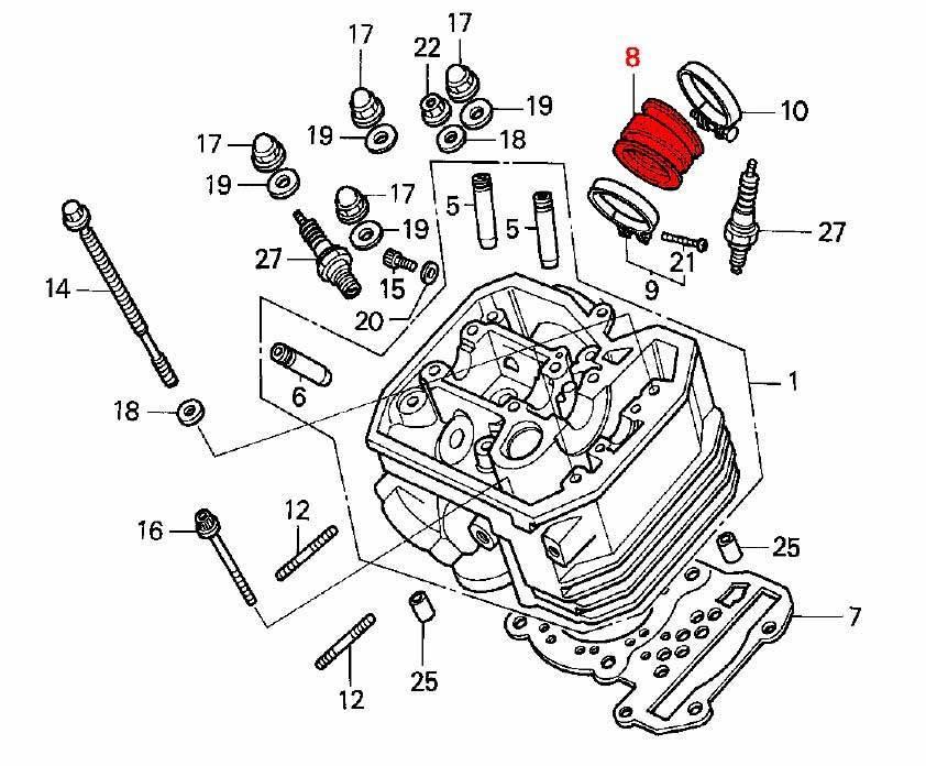 Carburettor To Head Inlet Rubber Insulators Set Of 2