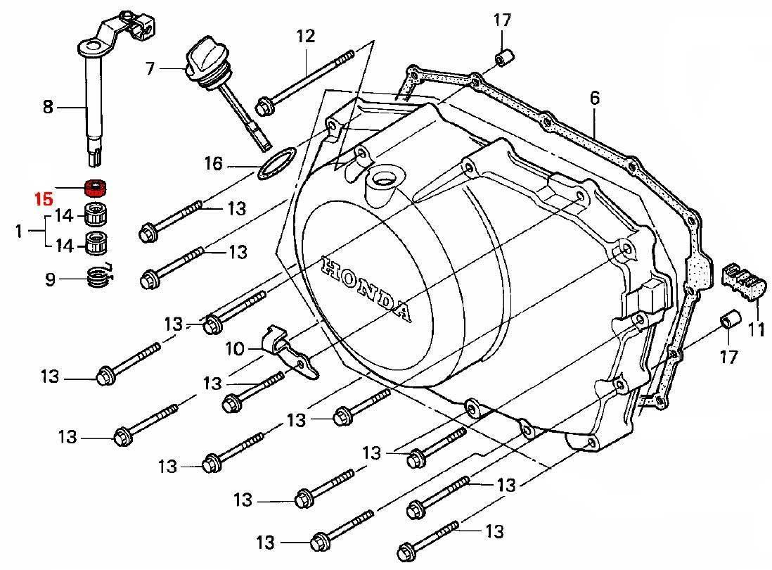OEM Honda Oil Seal, Clutch Rod 12x18x5 (Arai) - RD03/04/07/07A (1988 - 03)