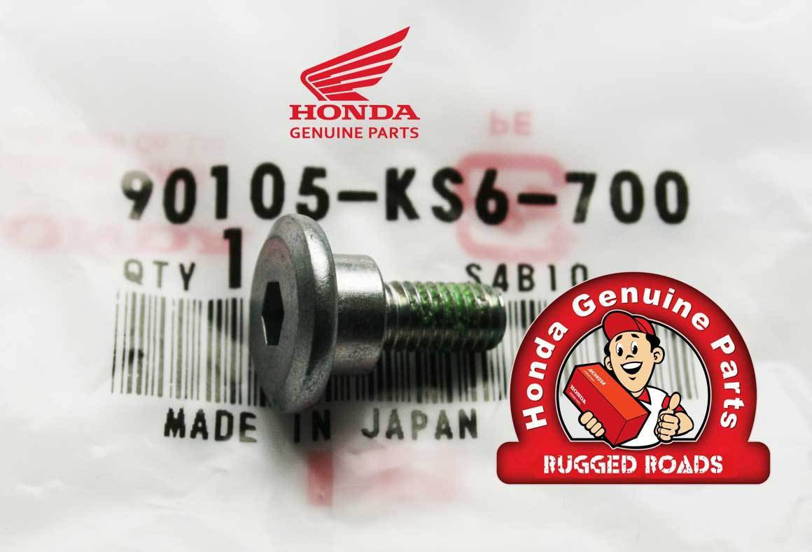 OEM Honda Speedometer Cable Stay Bolt - RD03/04/07/07A (1988 - 03)