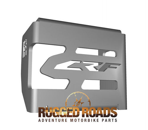 Rear Brake Reservoir Guard - Silver - CRF1000 (2016/17)