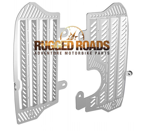 Radiator Guards - Silver - CRF1000 (2016 > )