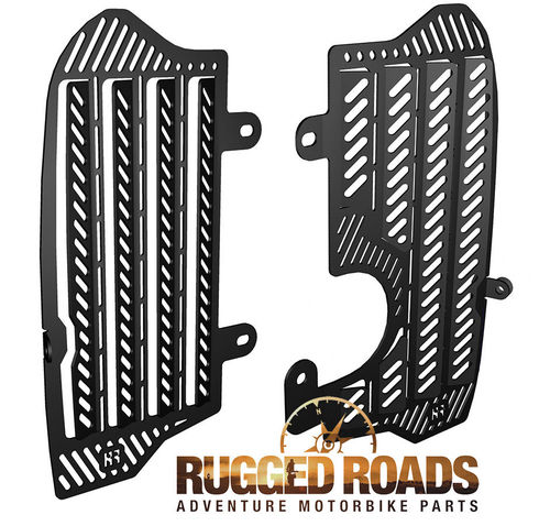 Radiator Guards - Black - CRF1000 all models (2016 onwards )