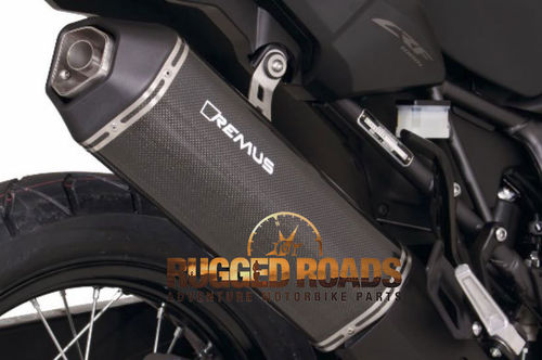 REMUS OKAMI slip-on Carbon Fibre silencer