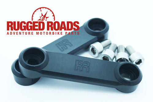 Rear Peg Hanger Covers - Black - CRF1000 (2016 >)
