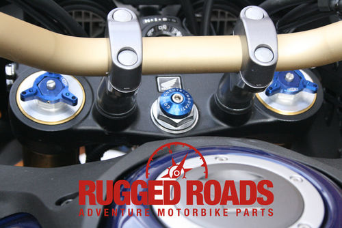 Steering Stem Anodised Aluminium Cover - CRF1000/CRF1100
