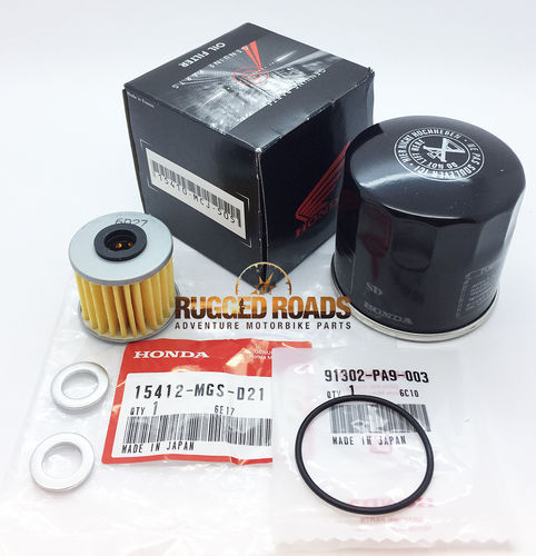 OEM Honda Oil Change Service Kit - DCT Engine - CRF1000 / CRF1100