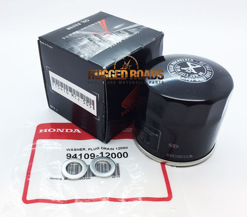 OEM Honda Oil Change Service Kit - Manual Engine - CRF1000 / CRF1100