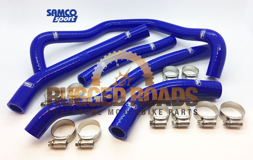 Samco Silicon Hose Kit with Clamps - BLUE - CRF1000 (all models)