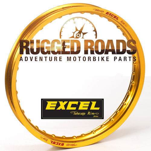 "Excel Front Rim – GOLD – 21"" x 2.15"" 36 spoke - CRF1000/CRF1100"