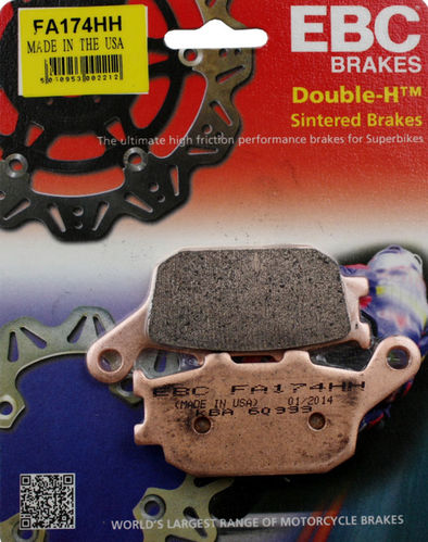 EBC Double-H™ Sintered Brake Pads REAR - Africa Twin CRF1000/CRF1100