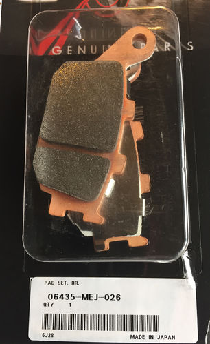 OEM Honda Rear Brake Pads - CRF1000 / CRF1100 (all models)